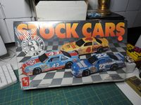 AMT_8910 FACTORY SEALED Stock Cars 3 Complete Kits by AMT/Ertl  STP/Kodak/Maxwell House (1:25)
