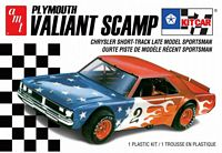 AMT_1171M #2 AMT Plymouth Valiant Scamp Kit Car 2T AMT1171M (1:25)