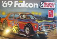 AMT_30142 '69 FORD FALCON MODIFIED STOCKER (1:25) (OB)