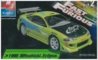 "AMT_31983 1995 Mitsubishi Eclipse ""Fast & Furious"" model kit (1:25)"