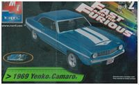 "AMT_38032 1969 Yenko Camaro ""Fast & Furious"" model kit (1:25)"