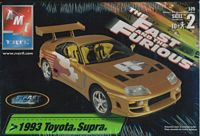 "AMT_38191 1993 Toyota Supra ""Fast and Furious"" model kit (1:25)"