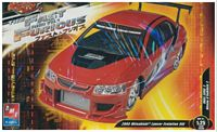 "AMT_38512 2005 Mitsubishi Lancer Evolution VII ""Fast & Furious"" model kit (1:25)"