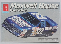 AMT_6457 #22 Sterling Marlin Maxwellhouse  Ford Thunderbird Stock Car (1:25) (OB)