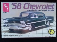 AMT_6548 58 Chevy Impala Coupe (1:25)