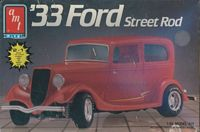 AMT_6714 '33 Ford Street Rod 2 in 1 (1:25)