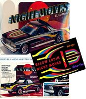 "CC-057 ""NIGHT MOVES"" Chevy El Camino"