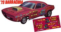 "CC-069 ""FLAMIN' CUDA"" 1973 Plymouth Barracuda"