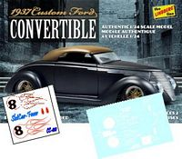 CC_100 #8 Ball Special '37 Ford Convertible (black or dark models)