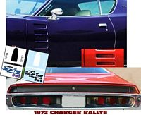 CD_001-C 1972 Dodge Charger Rallye Stickers