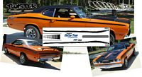 CD_033-C Plymouth Duster Twister stripes (BLACK ONLY)