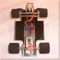 CH102 1:32nd RTR Chassis D-16 Parma Motor  (no body)