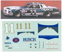 CY_11Busch #11 Cale Yarborough (1:24 decals)