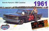 DC-1961  #20 Marvin Panch 60 Pontiac Catalina