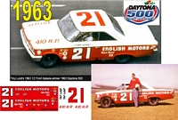 DC-1963  #21 Tiny Lund 63 Ford