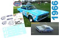 DC-1966  #43 Richard Petty 66 Plymouth