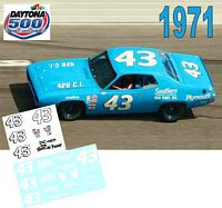 DC-1971  #43 Richard Petty 71 Plymouth