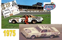 DC-1975  #72 Benny Parsons 75 Chevy
