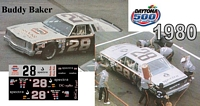 DC-1980  #28 Buddy Baker 80 Chevy Monte Carlo
