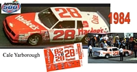 DC-1984  #28 Cale Yarborough  84 Chevy Monte Carlo