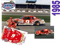DC-1985  #9 Bill Elliott  1985 Coors Ford Thunderbird