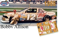 DC-1988  #12 Bobby Allison 88 Buick Regal