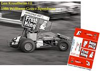 SC_001-C #3 Len Krautheim III 1986 Williams Grove Speedway