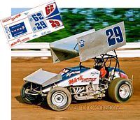 SC_002 #29 Doug Wolfgang in the Weikert Livestock sprint car
