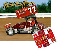 SC_004-C #77 Keith Kauffman sprint car at Williams Grove