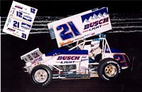 SC_012 #21 Fred Rahmer 1992 at Williams Grove