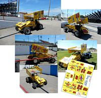 SC_014 #22 Jac Haudenchild 1993 Pennzoil Sprint Car