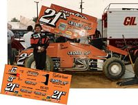 SC_025 #21x Ron Shuman Ofixco Racing Sprint Car