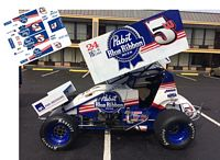 SC_033-C #5W Lucas Wolfe  Papst Blue Ribbon sprint car