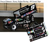 SC_034 #9 Daryn Pittman - Kasey Kahne Racing Great Clips