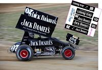 SC_036 #07 UNKNOWN  Jack Daniels sprint car