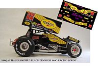 SC_047-C #22 Jac Haudenchild 1998 Pennzoil sprint car