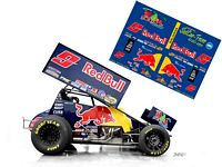 SC_052 #9 Joey Saldana 2011 Red Bull sprint car