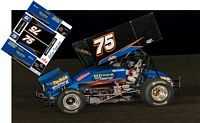 SC_057 #75 Brandon Geldner sprint car