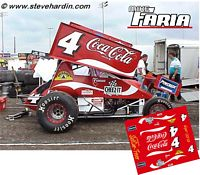 SC_065-C #4 Mike Faria Coca-Cola sprint car