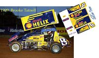 SC_074-C #8 Brooke Tatnell Shell Helix sprint car