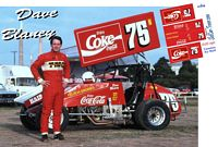 SC_092-C #75 Dave Blaney Coca-Cola Sprint Car