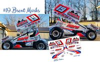 SC_097 #19 Brent Marks M&M Painting Sprint Car
