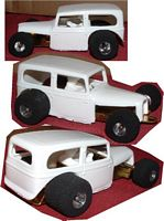 HLR-32Coach  '32 Ford Coach Resin Body (1:32)