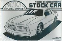 ME_6182 Model Empire '89 Ford Thunderbird Stock Car (1:25)