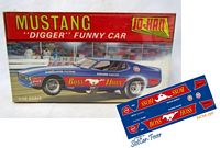 MM-130 Boss Hoss Mustang Digger Early Funny Car