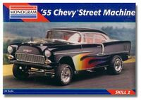 MON_2211 '55 Chevy Street Machine model kit (1:25)