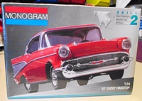 MON_2225 '57 Chevy model kit (1:24)