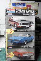 MON_6098 '70 Challenger, '70 Plymouth Superbird & '69 Hemi Charger (1:24 & 1:32)
