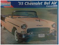 MON_2462 '55 Chevrolet Bel Air Convertible (1:25)
