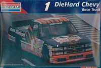 MON_2474 #1 Mike Chase Sears Die Hard Chevy NASTRUCK (1:24)